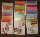 Stampin Up Inspiration sheets lot of 70 different ones