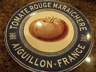 CERTIFIED INTERNATIONAL~FRENCH MARKET~BLUE BORDER~TOMATO~SALAD PLATE~NEW