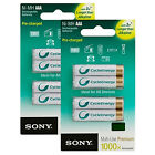 NEW Genuine SONY Cycle Energy NiMH Rechargeable Battery AAA 800 mAh x 8 Pack