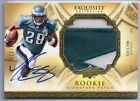 LESEAN MCCOY 2009 UD EXQUISITE RC AUTOGRAPH RPA NAMEPLATE M PATCH JERSEY114 225