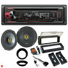 96-2013 HARLEY TOURING STEREO RADIO CD INSTALL KIT BIKE ELECTRONICS SPEAKER KIT
