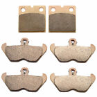 1992-1996 BMW K1100RS Sintered HH Front & Rear Brake Pads