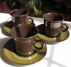 Franciscan China USA Earthenware Lot of 3 Sets Cups & Saucers Madeira