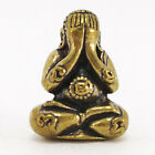 Thai Amulet Buddha Phra Pidta LP Luangpumoon Antiques Wat Barn Jan Generation