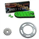 1997-1998 Triumph Speed Triple T509 O-Ring Chain and Sprocket Kit - Green