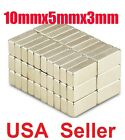 Lot Of 100 50 10 X 5 X 3mm Block Rare Earth Neodymium Super Strong Magnets N50