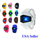 USA Multifunction LED Digital Men Women Aircraft Child Boy Girl Sports Watches