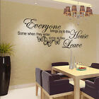 New Butterfly Art Vinyl Removable Quote Decal Mural Room Decor Home Wall Sticker