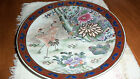 United Pacific- HFP Macau 10 1/2 Plate with Cranes and Peonies, Hand Painted