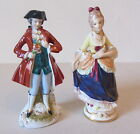 Vtg Elegant Porcelain Victorian Lady Man Figurine Figure Coventry Made in USA