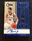 2010-11 Totally Certified Greivis Vasquez RC Rookie Multi Jersey AUTO Blue 17 49
