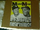 RARE 1963 STAN MUSIAL WILLIE MAYS MAGAZINE GREAT PHOTOS W LIFE STORIES