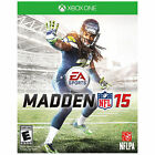 Madden NFL 15 (Xbox One, 2014) Brand New Factory Sealed Free Shipping!