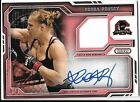 RONDA ROUSEY AUTO #8 8 RUBY 2014 TOPPS UFC KNOCKOUT AUTO RELIC CARD