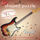 NEW Jigsaw Paper House Shaped Puzzle Fender Guitar 500 Pieces - 41