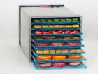 600W 6 Tray Deluxe Commercial Jerky Meat Fruit Vegetables Food Dehydrator Dryer