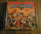 BOLT THROWER - WAR MASTER 1991 COMBAT 1ST US PRESS SIGNED BY 5 MEMBERS!