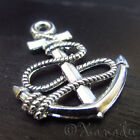 Boat Anchor Wholesale Nautical Silver Plated Charms C3334 - 10 20 Or 50pcs
