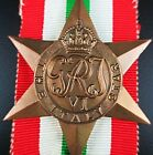 WW2 AUSTRALIA CANADA BRITISH ITALY STAR MEDAL ORDER FOR FIGHTING THE GERMANS (0)