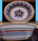 Deruta Majolica - STUNNING - GEOMETRIC Pasta / Serving BOWL - Look!