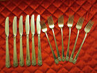 Antique 6 FORKS & KNIVES WM ROGERS & SON IS 1950,
