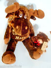 DanDee Chocolate Mouse and Teddy Bear Scented Plush Stuffed Toy Dolls Lot 2