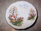 Vintage Regency English Fine Bone China REPLACEMENT Saucer Fox Hunt Horses Hound
