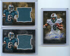 2011 Topps Inception Daniel Thomas RC Jersey Auto lot 75 Dolphins
