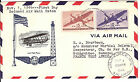 Firstday reduced AIR MAIL RATEcover 1946 to SENEGAL French West Africa Milwaukee