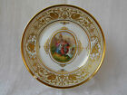 Gorgeous Dresden Lamm Porcelain Plate with Wagner Opera Scene Excellent!