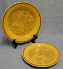 VINTAGE FRANCISCAN EARTHENWARE AMAPOLA DINNER PLATE AND SALAD PLATE 1973 EXC!