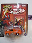 JOHNNY LIGHTNING THE AMAZING  SPIDER MAN - 1955 FORD PANEL DELIVERY  #02