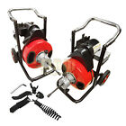 1 2 Snake 50 Ft Electric Drain Auger Cleaner Cleaning Sewer Plumbing Cutter