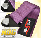 For Gmc 273mm Tow Towing Hook Hauling Strap 10000Lb Rated Rope Usdm Set Purple