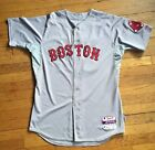 Boston Red Sox Mike Napoli Game Used Jersey Photo Matched