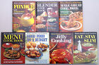 Lot of 7 Vintage 1960's & 1970's Better Homes & Gardens Hard Cover Cook Books