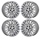 20 BUICK LACROSSE PVD CHROME WHEELS RIMS FACTORY OEM SET 4 4117 EXCHANGE