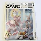 McCalls 886 3500 Bunny Hop Easter Sewing Pattern Uncut FF Floppy Ear Rabbit