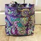 Vera Bradley Large Tote Bag Brand New With Tag Rare!~ Heather