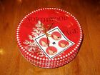 222 Fifth Northwood Cottage Dessert Party Plates  NWT S/4 Birds Deer Winter
