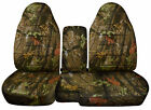 1983-2017 Ford Ranger 6040 Camouflage Camo Seat Covers Choose Color
