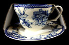 222 FIFTH ADELAIDE BLUE FRENCH COUNTRY TOILE BIRD CUP & SAUCER SET BRAND NEW!