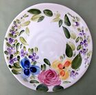 Tabletops Unlimited *MARIAM'S GARDEN* Hand Painted 8-3/4