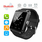 HOT Black U8 Smart Watch Phone Mate For Android IOS Iphone Samsung LG