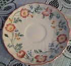Churchill Fine English Tableware China Briar Rose Set of 6 Saucers Staffordshire