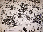 Toile Contact Paper Black White Rose Quick Cover Shelf Liner 45 Ft nip