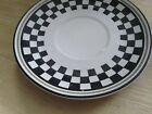 California Pantry 1999 Classic Ceramic Plaid Saucer