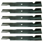 Set of 6 Husqvarna 52 Commercial Standard Lift Lawn Mower Blades FREE Shipping