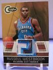 2010-11 TOTALLY CERTIFIED GOLD PATCH! CARD WESTBROOK THUNDER #ED 19 25