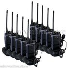 10x Walkie Talkie Pofung T88 UHF 400-480MHz Monitor Scan 5W VOX FM Two Way Radio
